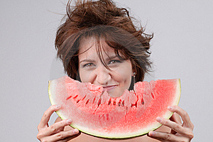 Water-melon Diet Stock Photography - Image: 17170122