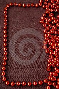 Red Shiny Costume Jewelry Stock Photo - Image: 17171310