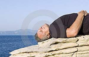 Man Relaxing Royalty Free Stock Images - Image: 17171549