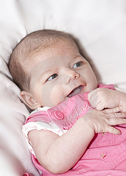 Little Girl Smiling Stock Image - Image: 17171731