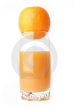 Juice Orange Isolated Royalty Free Stock Image - Image: 17172456