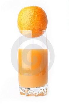 Juice Orange Isolated Royalty Free Stock Image - Image: 17172456