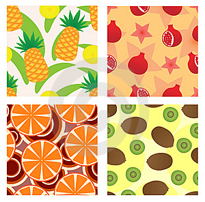 Fruit Seamless Royalty Free Stock Photos - Image: 17172718
