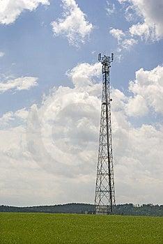 Antenna Pylon Communication Royalty Free Stock Photos - Image: 17173598