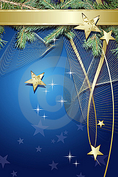 Blue Christmas Background Stock Photos - Image: 17173873
