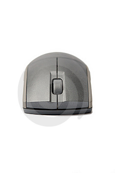 Wireless Computer Mouse Royalty Free Stock Image - Image: 17174026