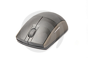 Wireless Computer Mouse Royalty Free Stock Photos - Image: 17174078