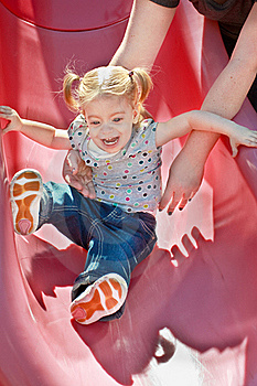 Happy Smiling Blonde Girl Stock Photo - Image: 17175060