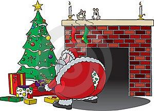 Santa Rips Pants Royalty Free Stock Photography - Image: 17175217
