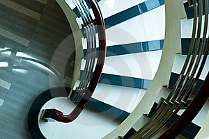 Winding Staircase Stock Images - Image: 17176674