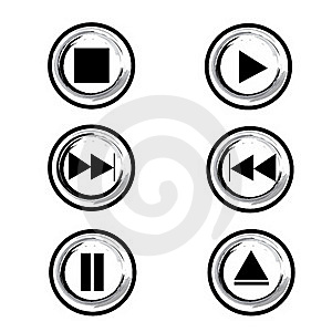 Player Button Stock Photography - Image: 17178472