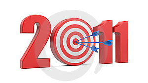 Success In New Year. Image Contain Clipping Path Royalty Free Stock Image - Image: 17179696