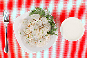 Boiled Dumplings Royalty Free Stock Photography - Image: 17179917
