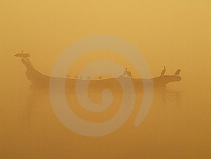 The Morning On Pond Stock Photography - Image: 17187202