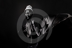 Absolutely Black Royalty Free Stock Photography - Image: 17187757