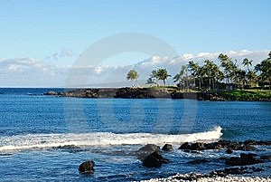 A View On Paradise Off The Big Island Of Hawaii Stock Photography - Image: 17189492