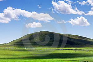 Mongolian Grassland Royalty Free Stock Image - Image: 17189526