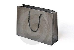 Black Shopping Paper Bag Royalty Free Stock Images - Image: 17189839