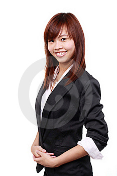 Beautiful Young Business Woman Royalty Free Stock Photos - Image: 17190308