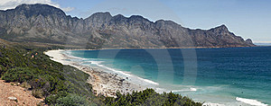 Panoramic View Of Kogelbaai Stock Image - Image: 17190881