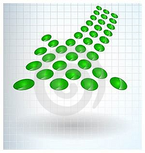 Abstract Vector Arrow Background Stock Image - Image: 17190991
