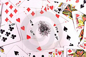 Ace Of Spades Royalty Free Stock Image - Image: 17192636
