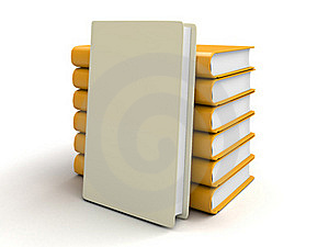 Stack Of Books Stock Images - Image: 17193154