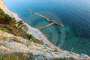 Wild Beach Royalty Free Stock Photo - Image: 17194255