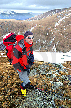 Young Mountaineer Stock Image - Image: 17194971