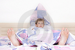 Child And Parent's Feet Stock Images - Image: 17195774