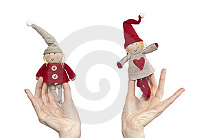 Pair Of Dwarves Stock Photography - Image: 17196382