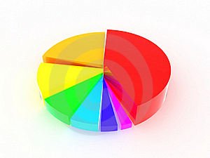 Round Iridescent Diagram #1 Stock Photo - Image: 17196690