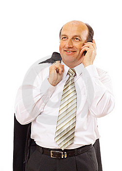 Portrait Of Casual Businessman Stock Image - Image: 17196821