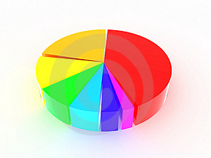 Round Iridescent Diagram #2 Stock Images - Image: 17198494