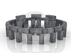 Stonehenge. Large Boulders Are Stones Stock Images - Image: 17199454