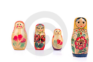 Russian Nesting Doll Royalty Free Stock Photo - Image: 17199505