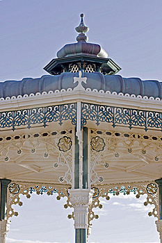 Ornate Bandstand Royalty Free Stock Photos - Image: 17199538