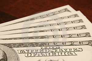 $100 Fatture Fotografia Stock Libera da Diritti - Immagine: 1723907