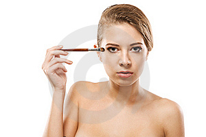 Make-up Royalty Free Stock Image - Image: 17200156