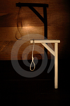 Gibbet With Shadow Stock Images - Image: 17201054
