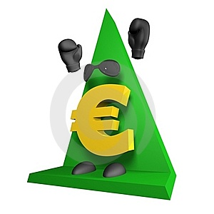 Euro Symbol 3d Royalty Free Stock Image - Image: 17201236