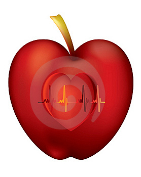 An Apple A Day Keeps The Doctor Away Royalty Free Stock Photo - Image: 17202205