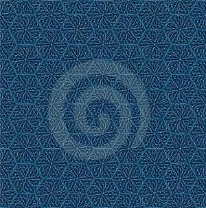 Pale Blue Damask Royalty Free Stock Photography - Image: 17202957