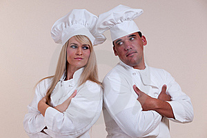 Cooks With Attitude Royalty Free Stock Photography - Image: 17204177