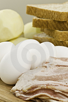 Food Ingredient For The Breakfast Royalty Free Stock Images - Image: 17204519