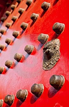 Oriential Door Knocker Royalty Free Stock Photos - Image: 17205738