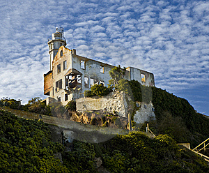 Alcatraz Warden House Stock Images - Image: 17206524