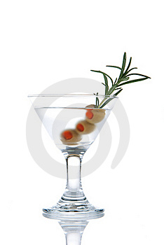 Classic Gin Martini Cocktail Stock Photos - Image: 17207963