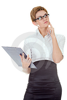 Business Woman Stock Image - Image: 17211441