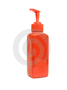Cream Container Royalty Free Stock Image - Image: 17213396